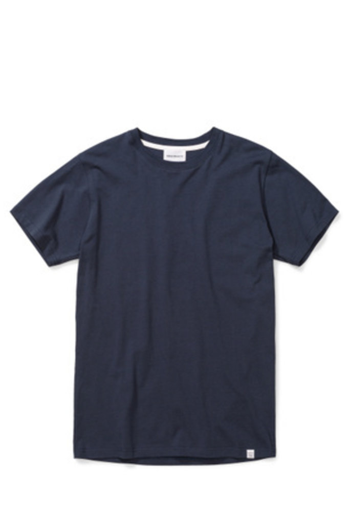 Norse Projects Niels Standard SS - Dark Navy 7004