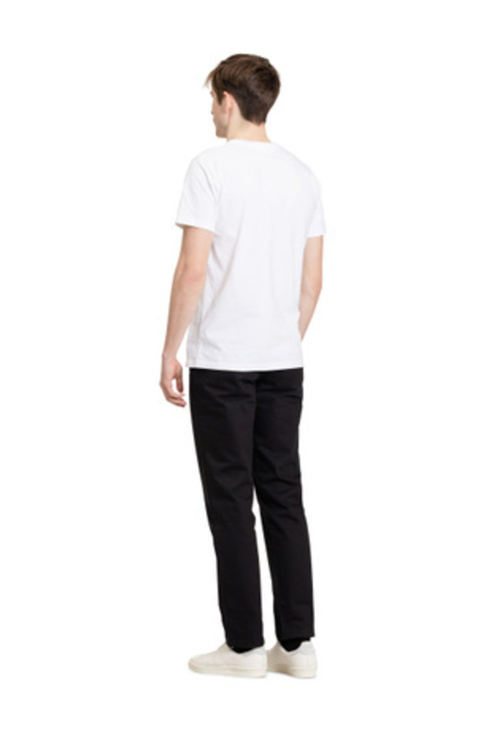 Norse Projects Niels Standard SS - White 0001