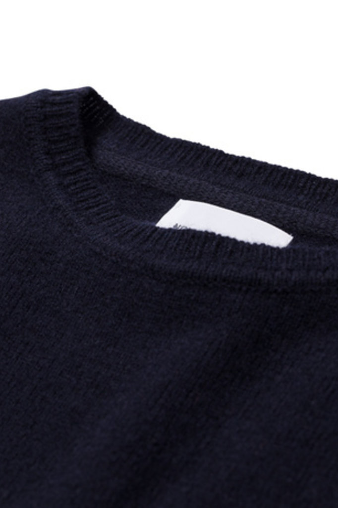 Norse Projects Sigfred Lambswool - Dark Navy