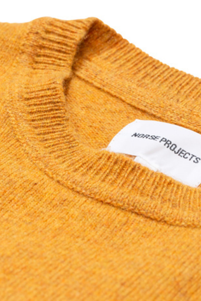 Norse Projects Sigfred Lambswool - Montpellier Yellow 3039