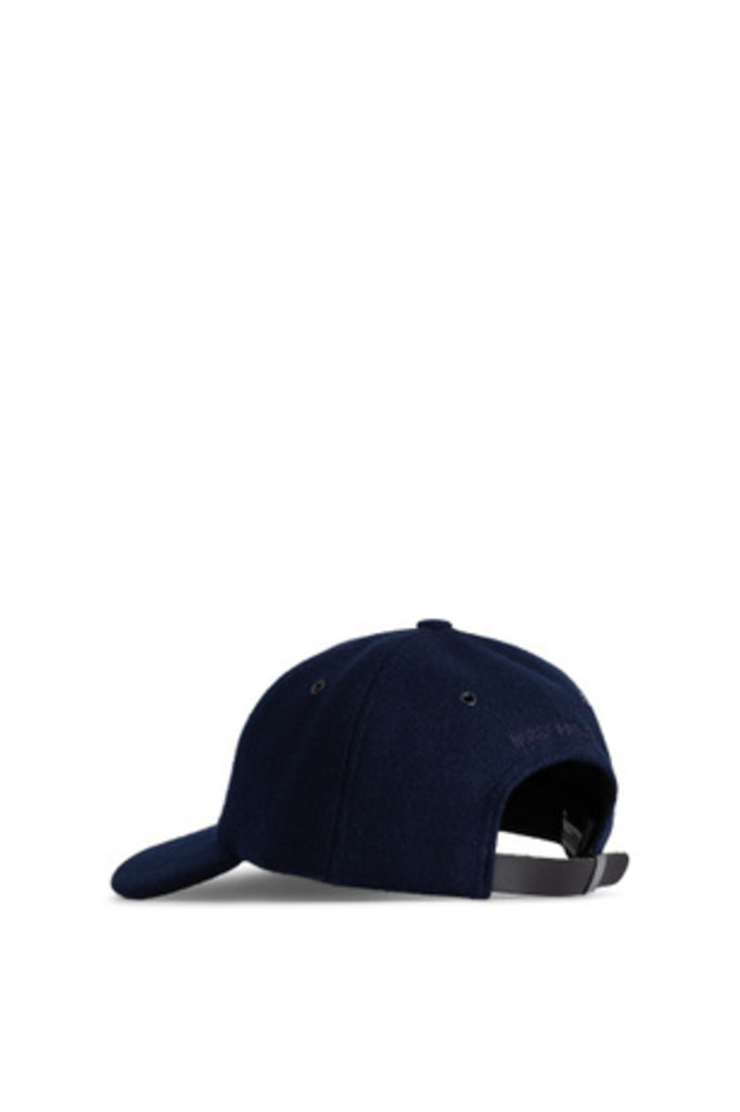 Norse Projects Wool Sports Cap - Dark Navy 7004
