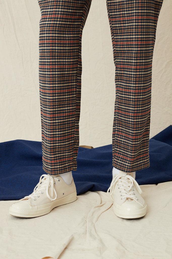 Libertine Libertine PLANT PANTS - RED CHECK