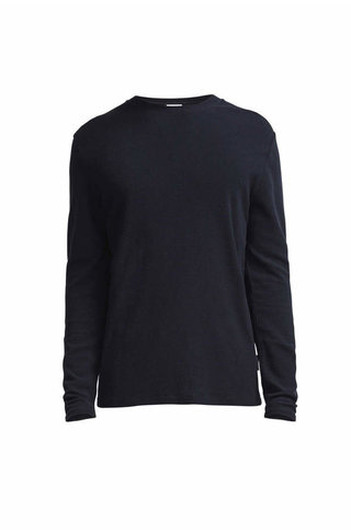 NN07 Clive 3323 Long Sleeve Tee - navy blue