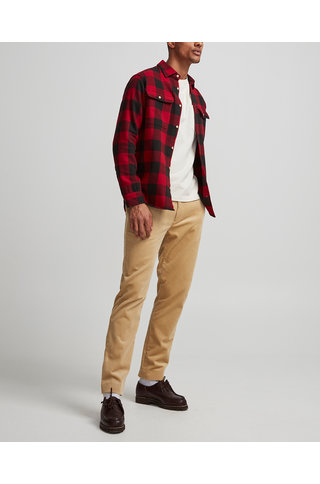 NN07 alf 5146 shirt red check