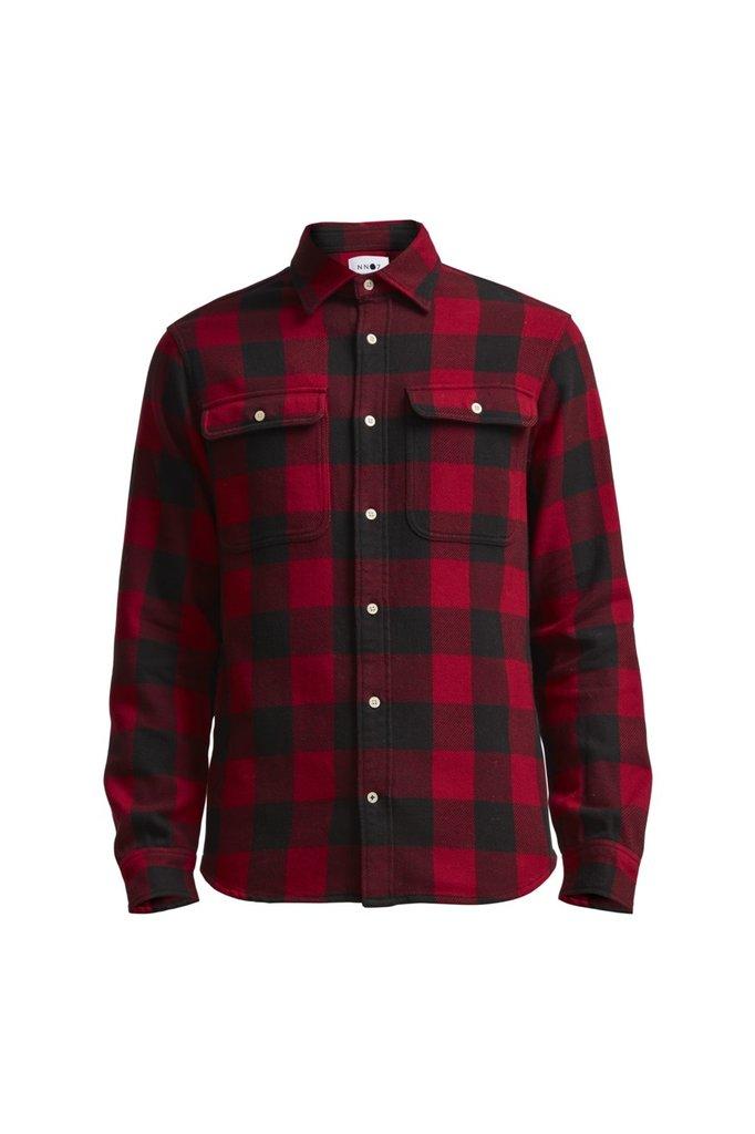 NN07 alf 5146 shirt red check