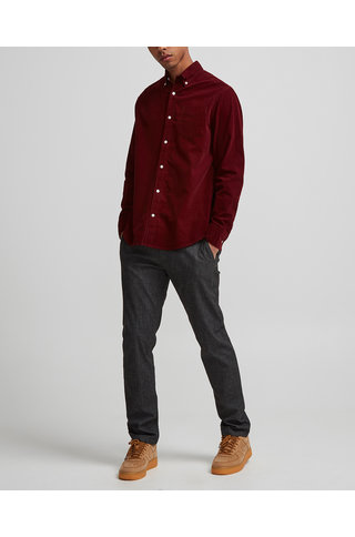 NN07 levon bd shirt 5723 - wine red