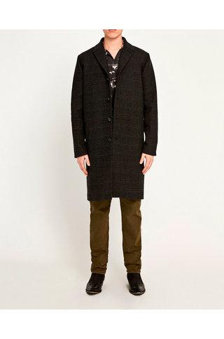 Won Hundred julius coat - dark grey melange