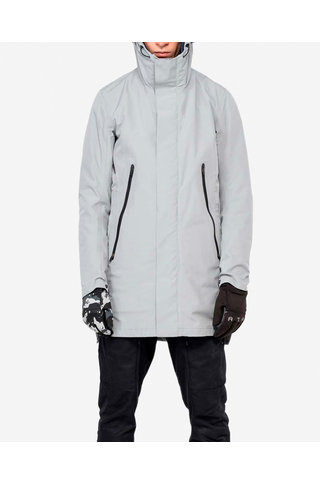 Krakatau liner parka qm215 - light grey