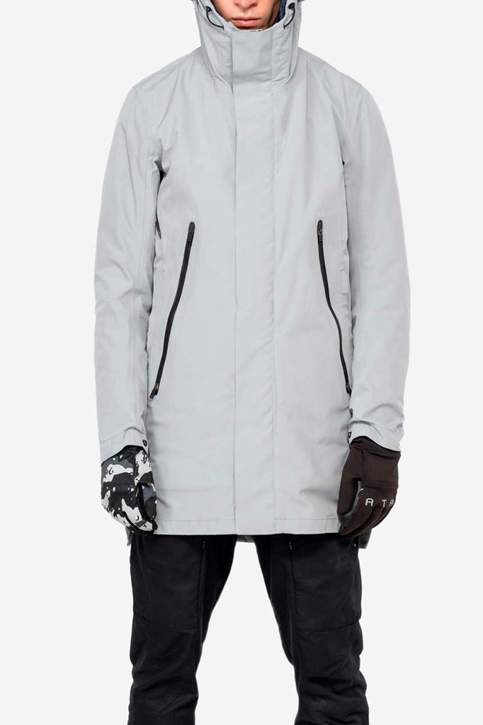 liner parka qm215 - light grey