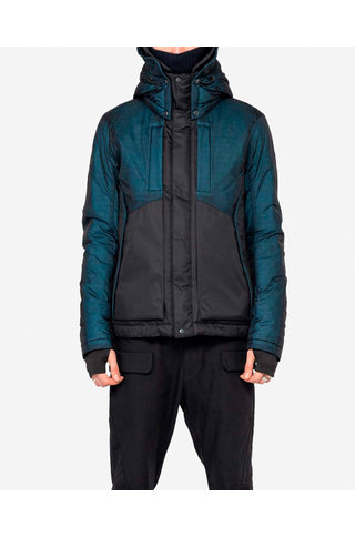 larsen jacket qm17 - navy blue