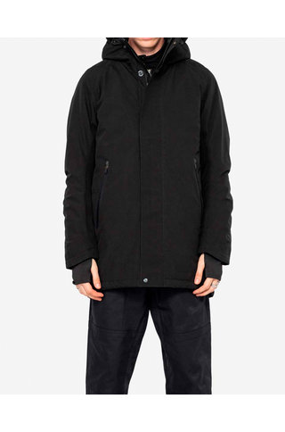 technical parka qm214 - black