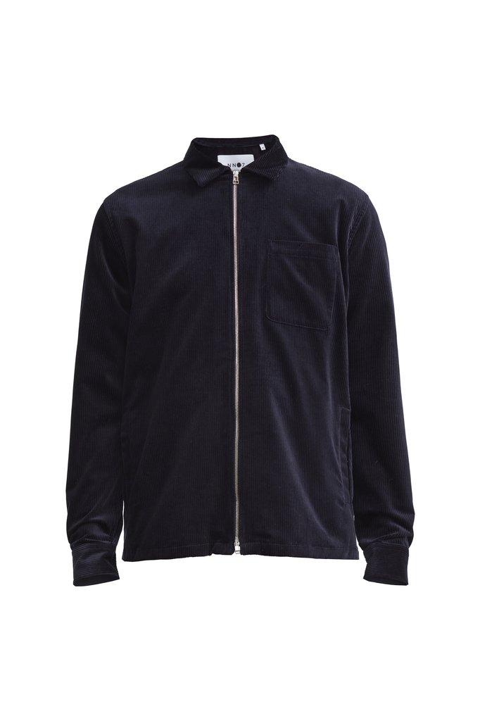 NN07 zip overshirt 1322 - navy