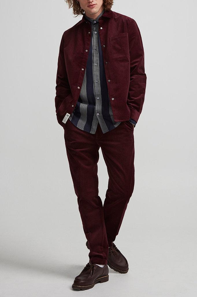 NN07 basso shirt 1427  - burgundy