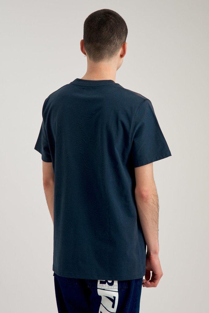 Arte thomas multi logo tshirt - navy
