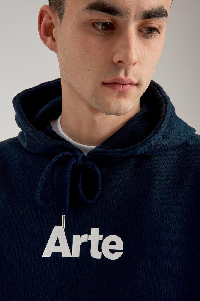 Arte hill hoodie - navy
