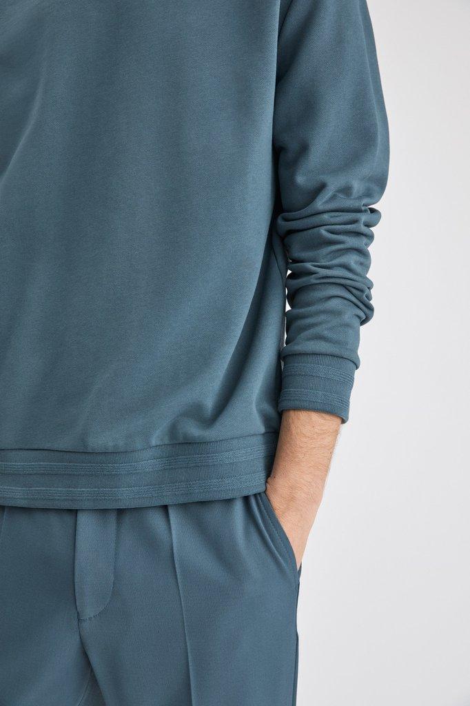 Filippa K isaac sweatshirt - blue grey