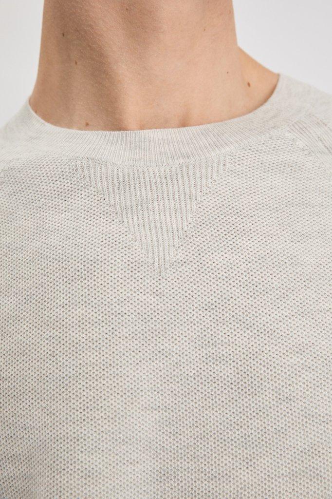 Filippa K henric sweatshirt - sterling grey