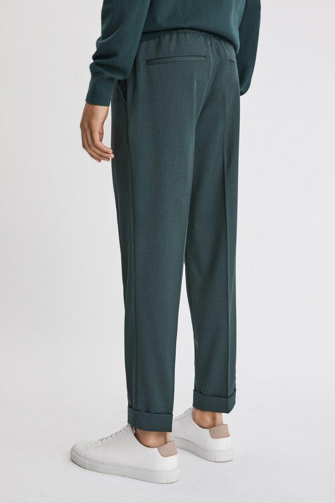 Filippa K terry cropped pants - fern