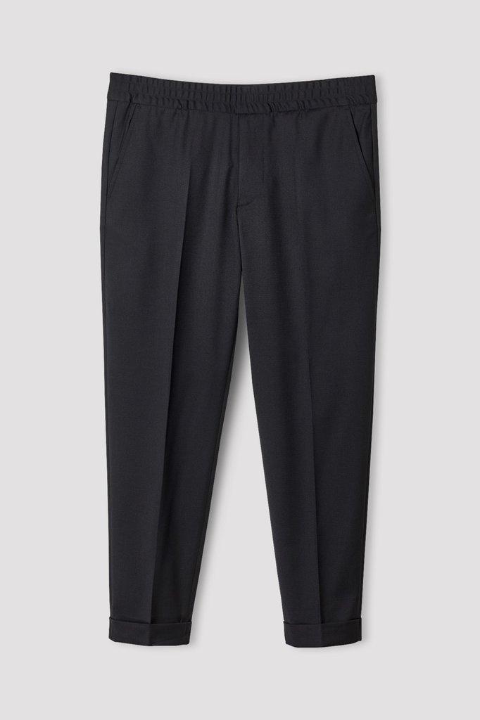 Filippa K terry cropped pants - black