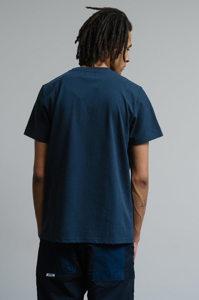 Arte thomas heart tshirt - navy