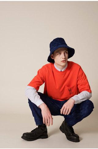 Tonsure william ss tshirt - orange