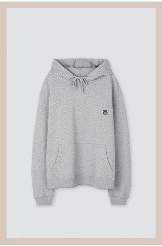 Tonsure jacob hoodie - grey mel