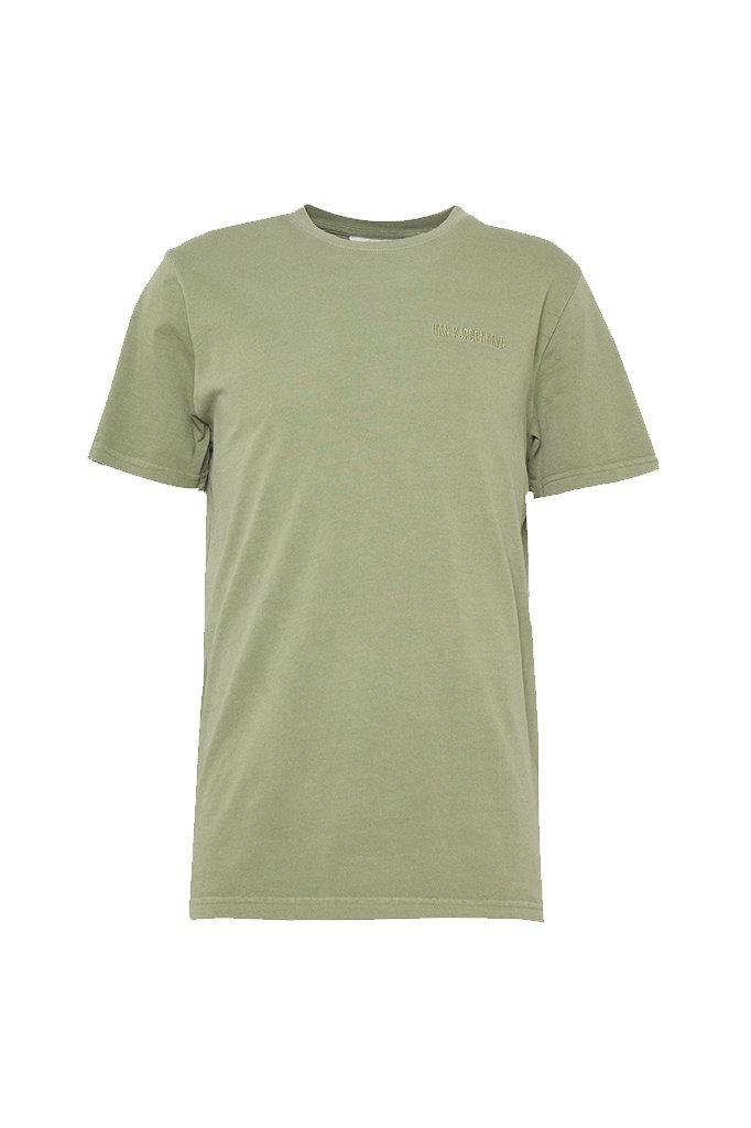 s han casual tshirt - army