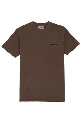 Han Kjobenhavn han casual tshirt - brown logo