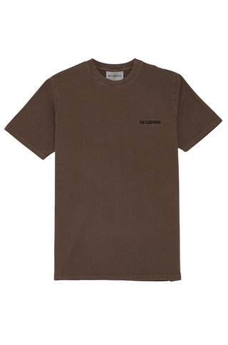 s han casual tshirt - brown logo