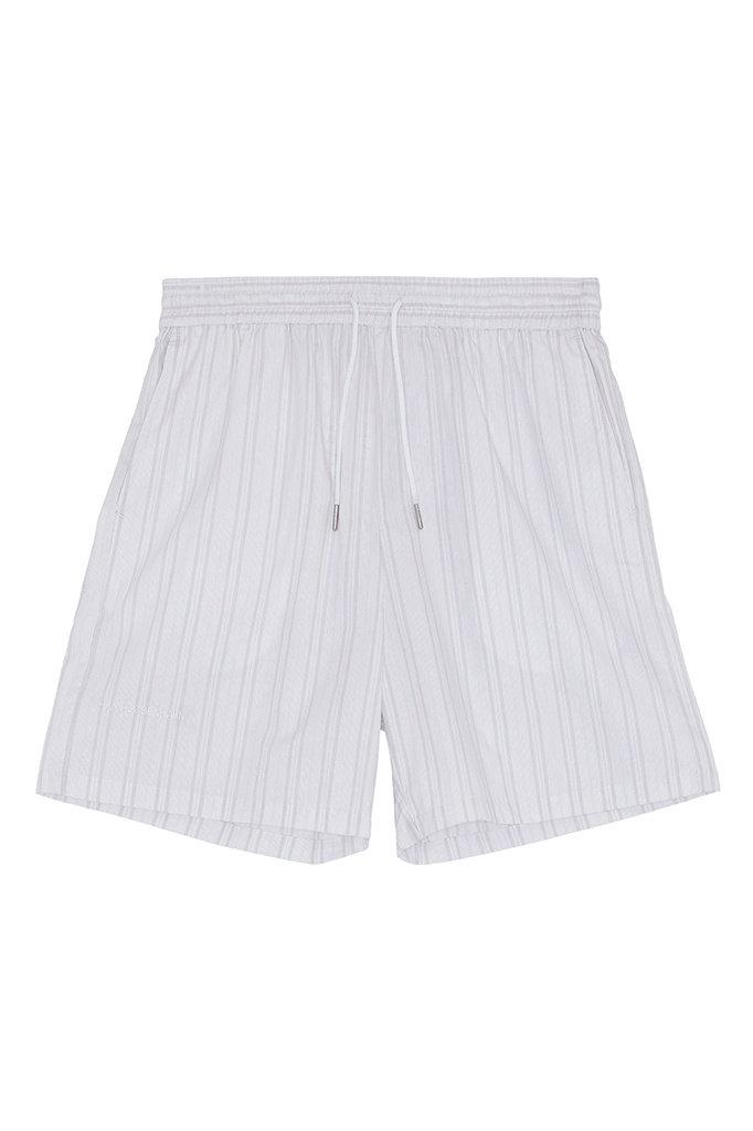 s han track short - pale stripe