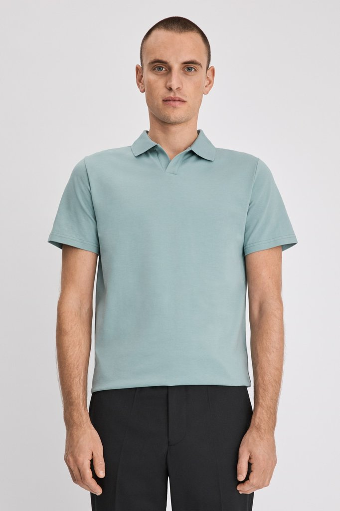 filippa k lycra ss polo tshirt - mint powder