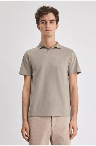 filippa k lycra ss polo tshirt - light sage