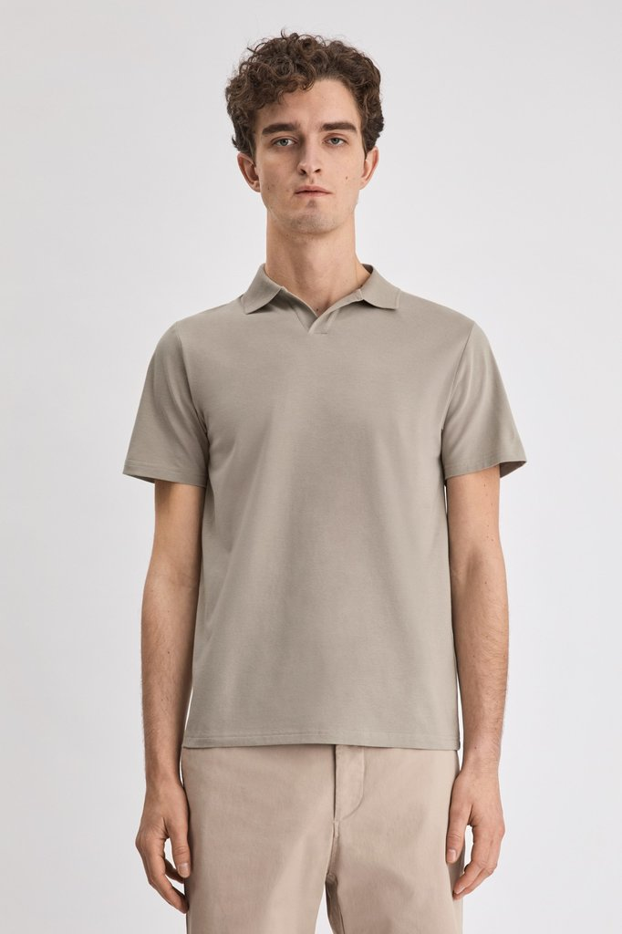 filippa k lycra ss polo tshirt - light sage