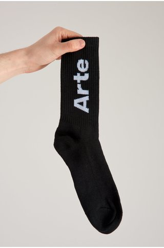 arte big arte socks - black