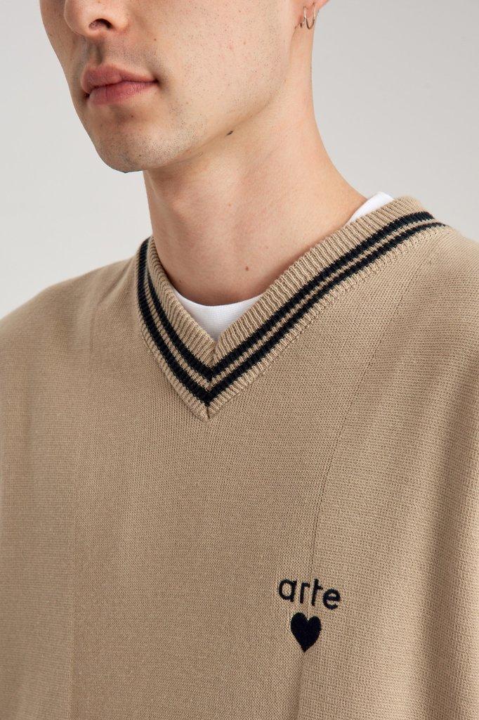 arte karl knit sweat - creme