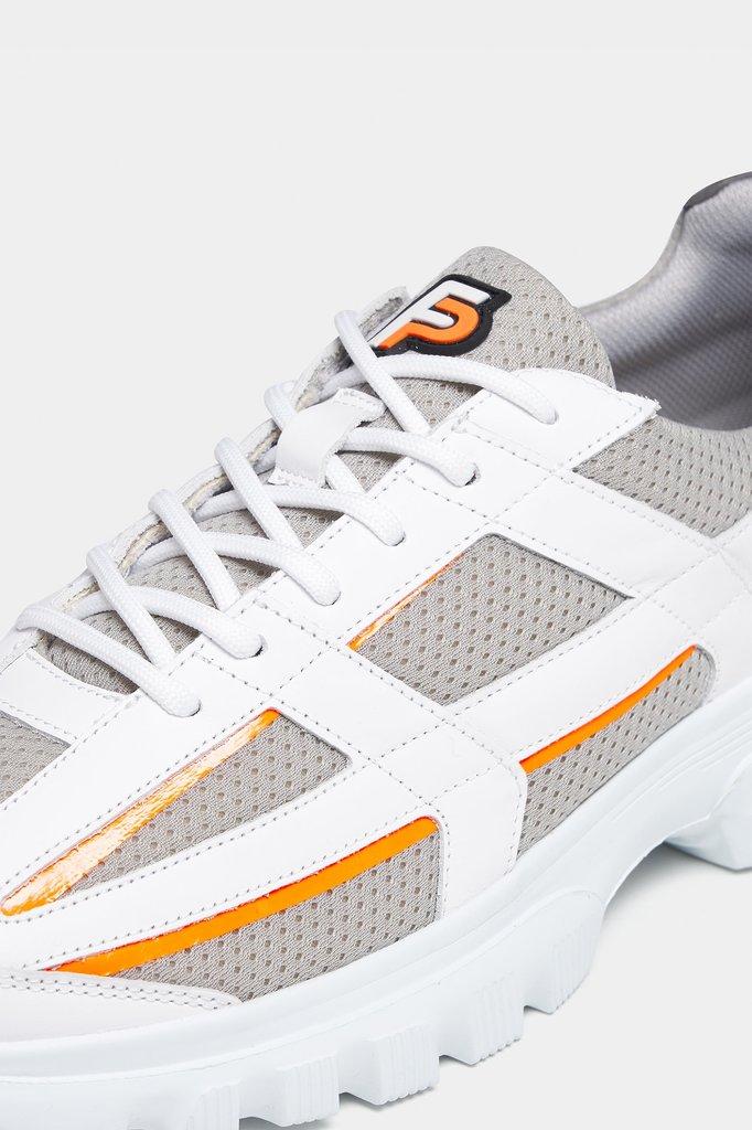 filling pieces reaf sneaker - zinc grey