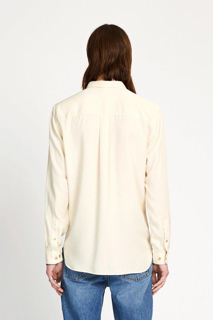 won hundred hendrix shirt - seedpearl white