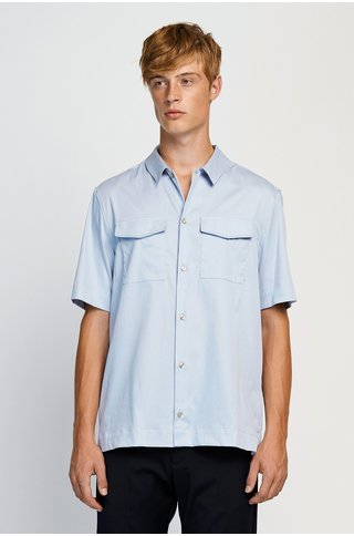 won hundred jonah shirt - zen blue