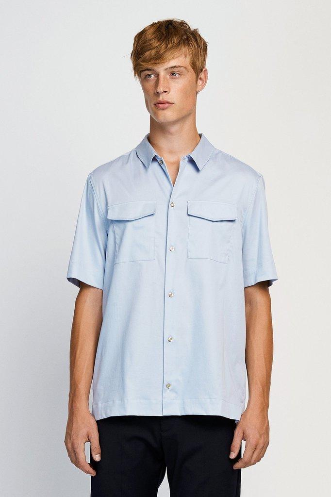won hundred jonah shirt - zen blue