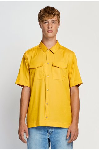 won hundred jonah shirt - yolk yellow