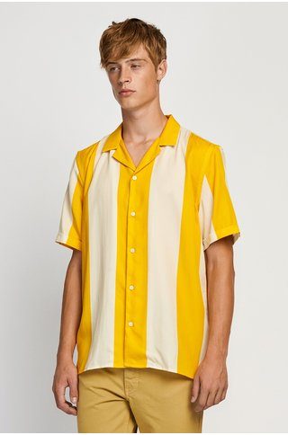 won hundred kirby shirt - yellow stripe
