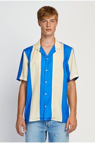 won hundred kirby shirt - blue stripe