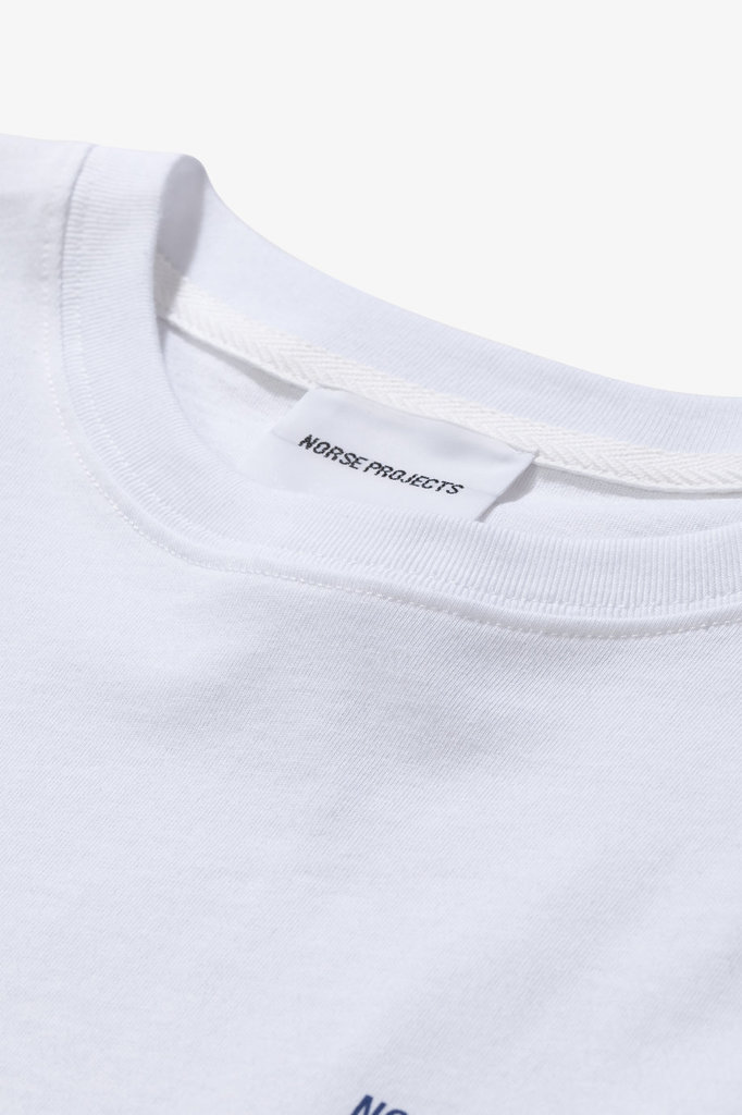 norse project niels projects logo tshirt - white