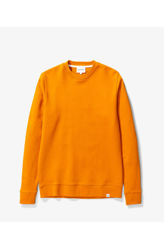 norse project vagn classic crew - cadmium orange
