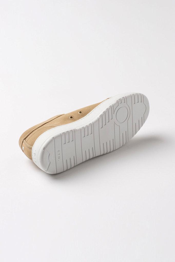 etq amsterdam lt 01 premium suede sneaker - sand