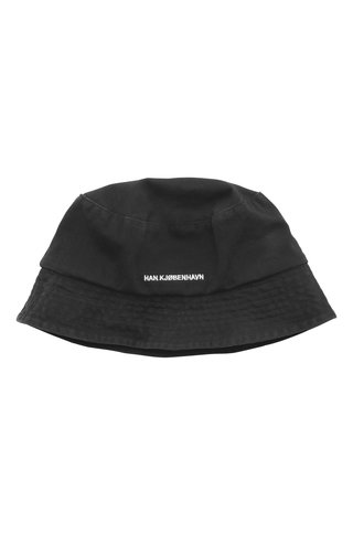 han kjobenhavn bucket hat - black