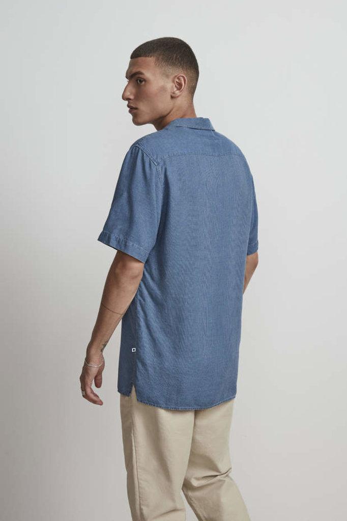 nn07 miyagi 5169 shirt - indigo stripe