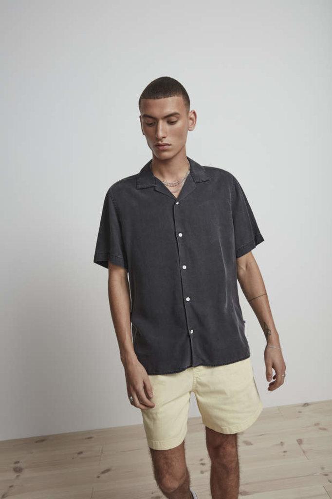 nn07 miyagi 5767 shirt - grey denim