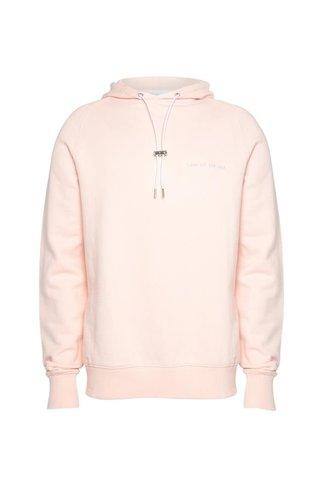 law of the sea coast hoodie - pink