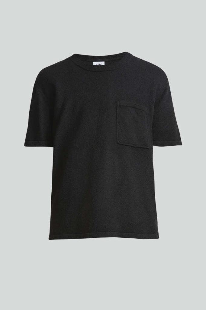 nn07 alfred 6380 knit - black